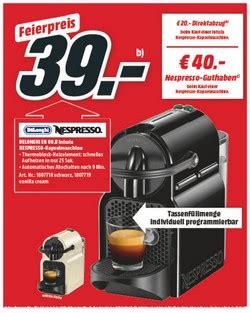 nespresso kapselmaschine fuer  bei mediamarkt