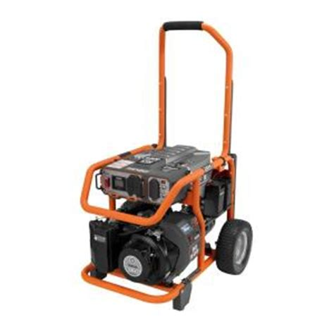 ridgid electric start portable generator from home depot