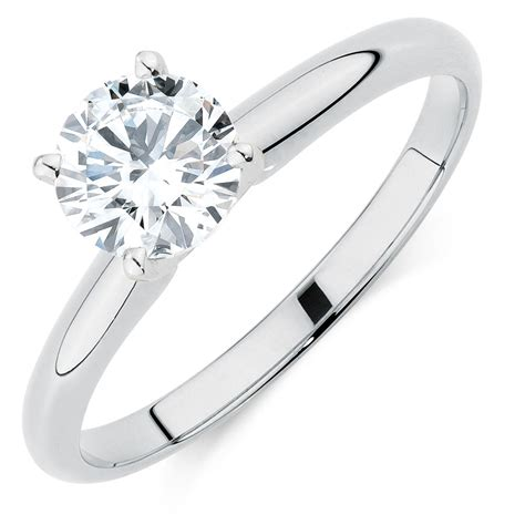 1 carat diamonds for sale solitaire engagement ring with a 1 carat in 14kt