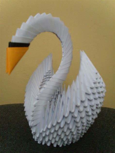 Paper Swan Origami - 17 best images about origami pl on origami