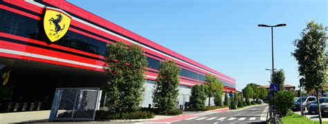 maranello italy led street lighting project by aec illuminazione for