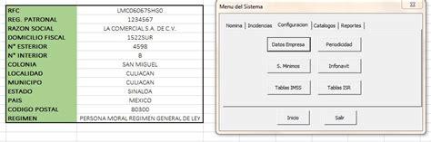 tutorial excel nomina 2014 nomina en excel con recibos cfdi formulas excel