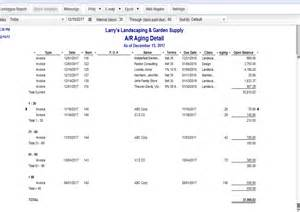 Aging Report For One Customer In Quickbooks by Using Quickbooks To Track Outstanding Invoices Cpa In Erie Co