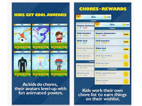 home chores app chore chart apps for kids popsugar moms
