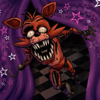 imagenes de foxy terrorificas how to draw foxy the fox five nights at freddys step by
