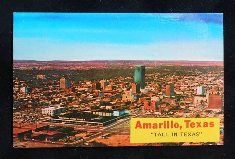 we buy houses amarillo 1970s aerial view tall in texas amarillo tx potter co postcard ebay