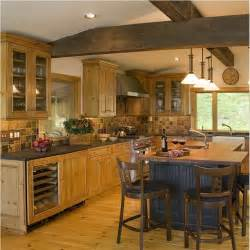 casual country rustic kitchen by wendy johnson