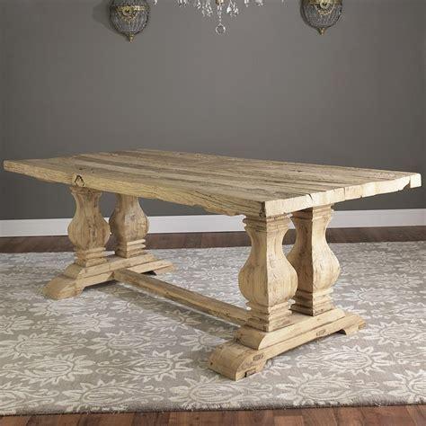 reclaimed elm wood dining table reclaimed elm wood trestle dining table dining room