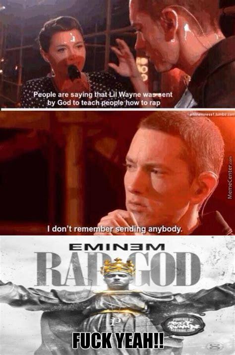 Eminem Rap God Meme - eminem just being awesome by regalia123 meme center