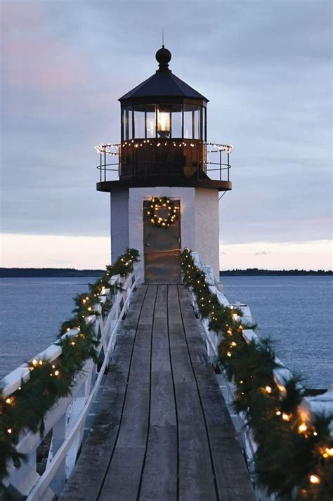 lighthouses christmas and beaches on pinterest