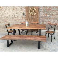 rustic dining room sets for sale urban furnishings rustic 6 piece dining set wayfair