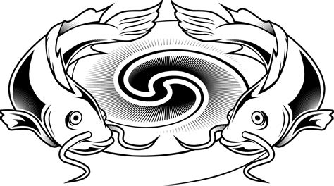 tattoo design coloring pages colouring pages of a catfish design for