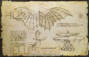 machine sketch leonardo da vinci sketches of flying machines