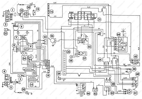 diagrams ford transit mki f o b 09 1970 onwards wiring