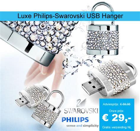 One Gig Of Glitter From Philips And Swarovski by Luxe Philips Swarovski 1gb Usb Hanger Dagelijkse Koopjes