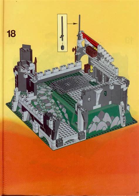 lego  black knights castle instructions castle