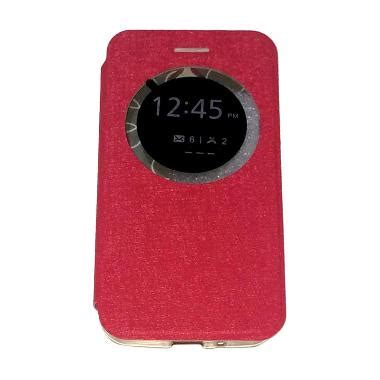 Asus Zenfone 2 Flip Leather Ume View Cover Casing Zenfone 2 jual ume asus zenfone go ukuran 4 5 inch zc451tg flip cover flipshell leather sarung