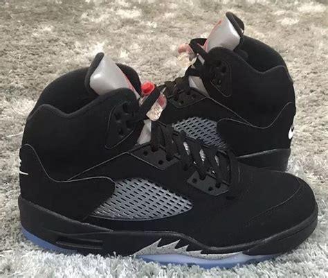 Nike Air 5 nike air 5 og black metallic silver 2016 sneaker bar detroit