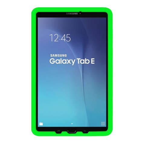 samsung galaxy tab e nook 9 6 inch 8 inch shock proof silicone back cover