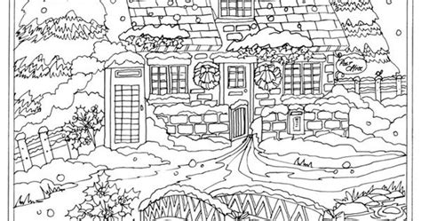libro winter wonderland christmas coloring welcome to dover publications from creative haven winter