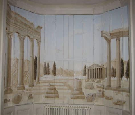 Wall Murals Greece Themed Wooden Shutter Murals Jess Arthur Mural Artist