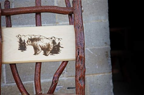 cache valley upholstery 1000 ideas about log chairs on pinterest log projects