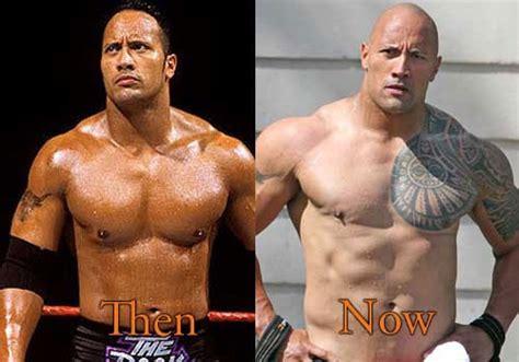 dwayne the rock johnson then and now dwayne the rock johnson then and now great transform steemit