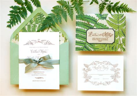 wedding invitation design tutorial diy tutorial vintage fern wedding invitations