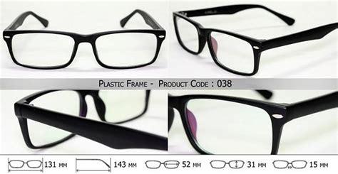 Kacamata Frame Set 3 plastic frame kacamata