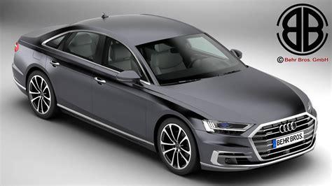 Audi A Modelle by Audi A8 2018 3d Model Buy Audi A8 2018 3d Model