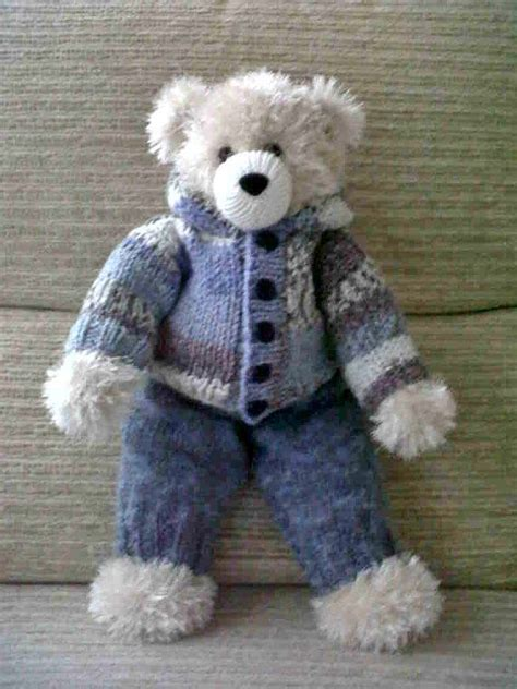 pattern teddy bear clothes big bear and outfits by huggablebears on etsy clothes