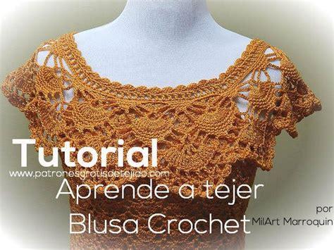 como tejer de gancho blusas 17 mejores im 225 genes sobre crochet blusas en pinterest