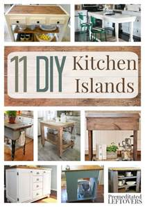 diy kitchen islands are great way increase storage island ideas specialty cookware food processors