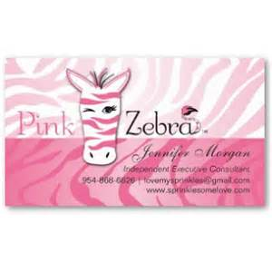 Pink Business Card Template Business Card Showcase By Socialite Designs Pink Zebra