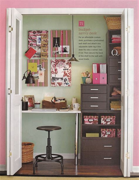Office Desk In Closet Diy Turn Your Closet Into An Office Or Desk Area Trusper