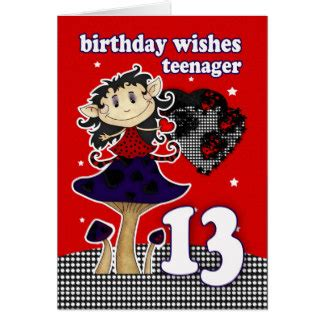 Happy 13 Birthday Wishes Happy 13th Birthday Cards Photocards Invitations More