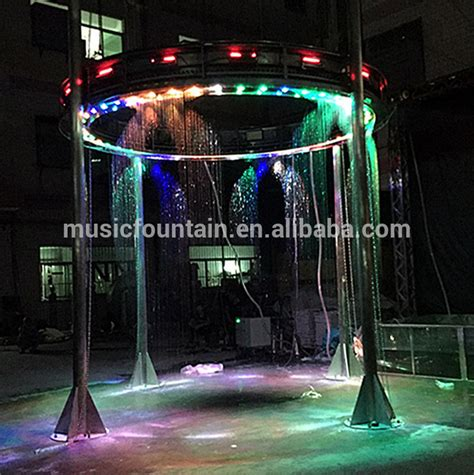 water curtain fountain water feature digital water curtain fountain graphical