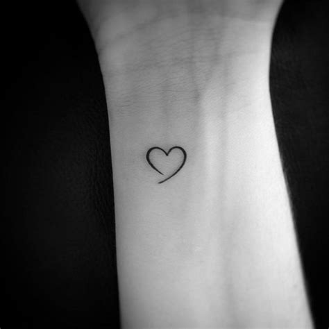 small heart shaped tattoos 22 interesting small ideas for sheideas