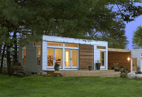 pretty blue home on homes prefab home origins green