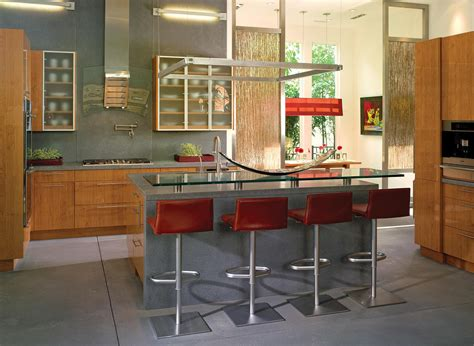 Glass Top Kitchen Island Kitchen Island Bar Stools