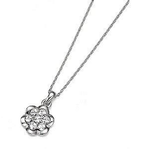 Guess Flower Cutting With Crysral Fm1821 h samuel the jeweller