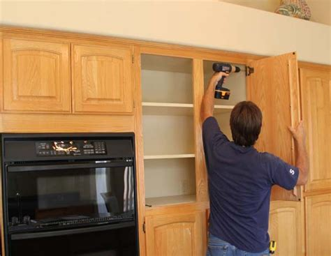 diy kitchen cabinet refacing how to reface cabinets diy myideasbedroom com