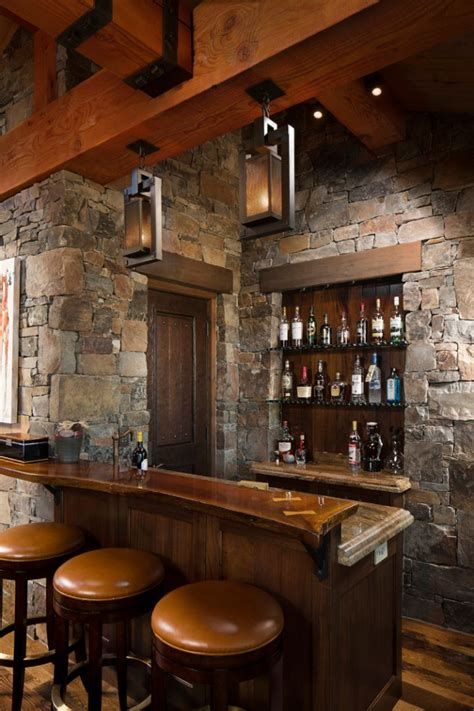 Bar Designs 16 Awe Inspiring Rustic Home Bars For An Unforgettable