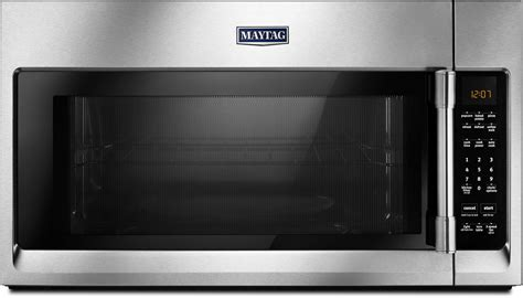over the stove microwave with fan and light maytag mmv4206fz 2 0 cu ft over the range microwave oven