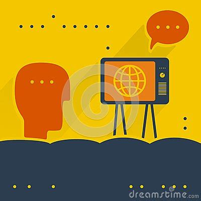 download eps format viewer the viewer and tv stock vector image 44925973