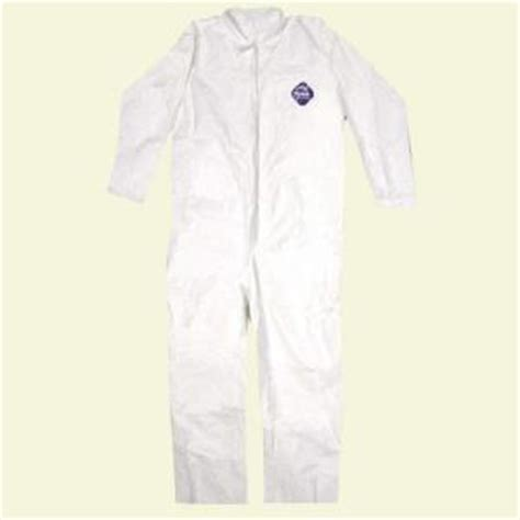 tyvek no elastic disposable coverall xl 14123 the home