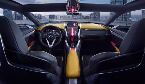 lexus lf nx interior lexus lf nx to debut company s new 2 0 litre turbo engine