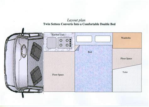 conversion van floor plans conversion guide cervan diy conversion