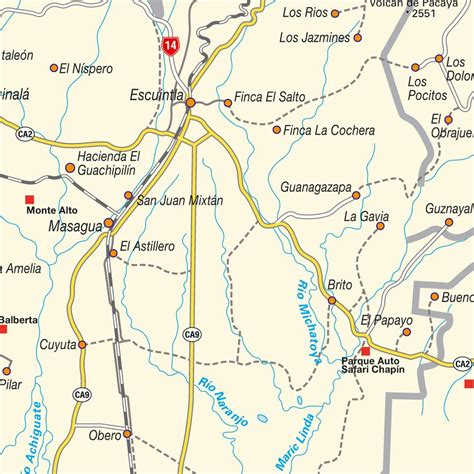 san jose guatemala map map of greater quetztal guatemala maps and