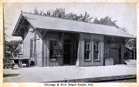 Hebron Post Office Hours by Nwigs Porter County Views Kouts Railroads